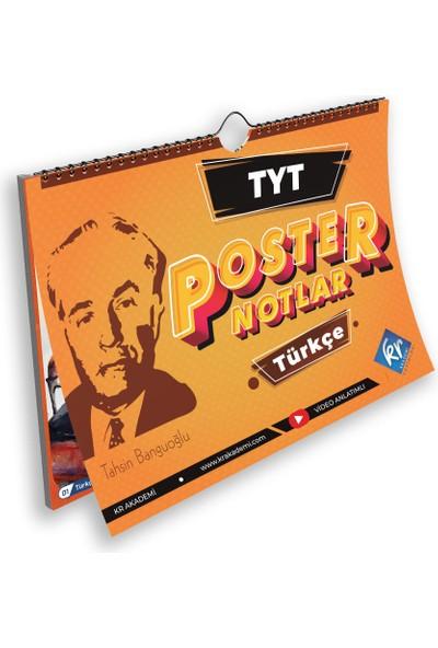 TYT Türkçe Poster Notlar KR Akademi