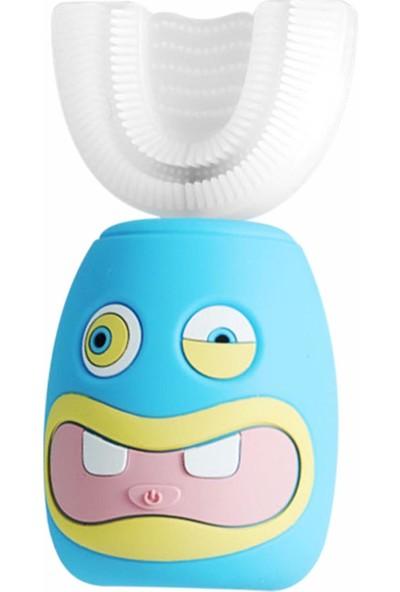 Lixada Çocuk U Şeklinde Akıllı Şarj Edilebilir Elektrikli Diş Fırçası (Yurt Dışından)