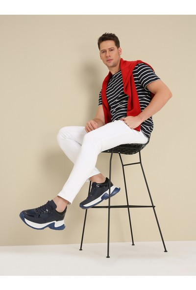 Hotiç 02AYH174310A680 Lacivert Erkek Ayakkabı