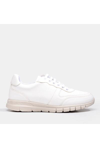 Hotiç 01AYH186380A900 Beyaz Kadın Ayakkabı