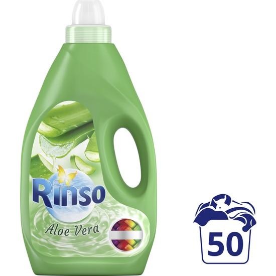Rinso Sıvı Çamaşır Deterjanı Renkliler İçin Aloe Vera 3 L 50 Yıkama 1 Adet