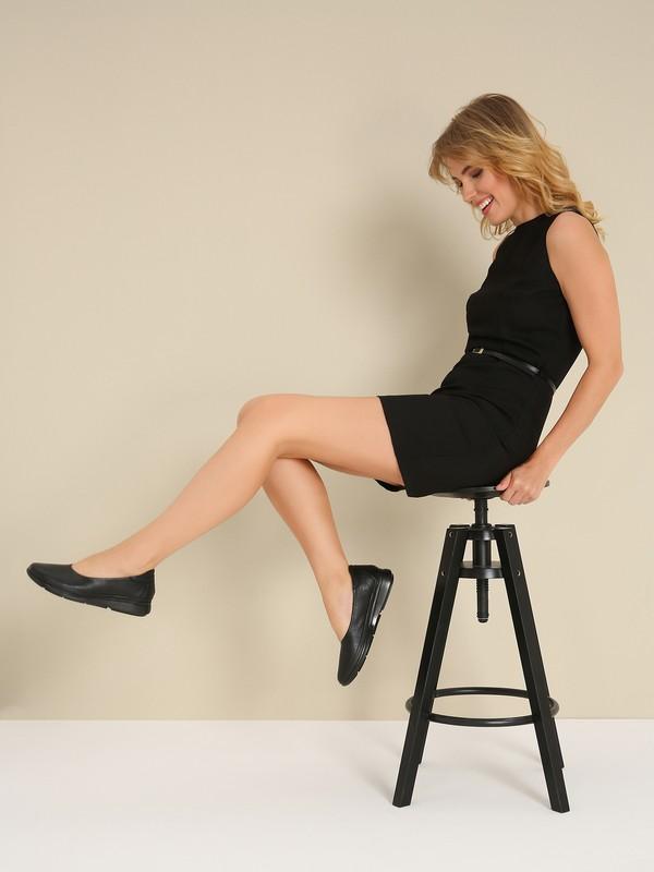 Hotiç 01AYH208470A100 Siyah Kadın Ayakkabı
