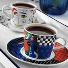 Kütahya Porselen Itır 12 Parça 6 Kişilik Çay Fincan Takımı