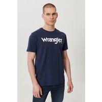 Wrangler Regular Fit Bol Kesim Sıfır Yaka Koton Grafik Desenli Tişört