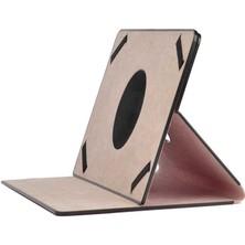 Noktaks General Mobile E-Tab 4 10.1 Inç Uyumlu Kılıf 360 Dönebilen Standlı Tablet Kılıfı