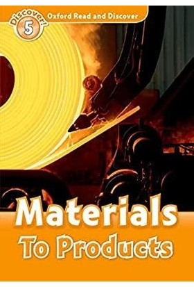 Oxford Discover! 5-Materials To Products (+Audio Cd)