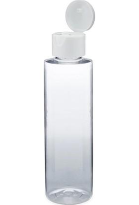 Güvenç Ambalaj 100ML - 50 Adet - Plastik Dezenfektan Kolonya Şişe Damlatmalı Kapak