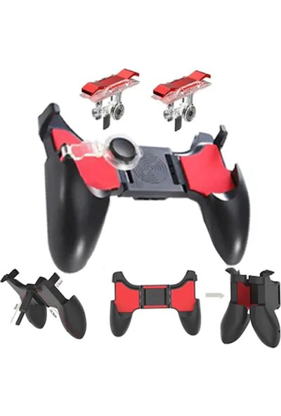 J-Tech Pubg W10 Gaming Oyun Konsolu Gamepad Joystick Tetik Set