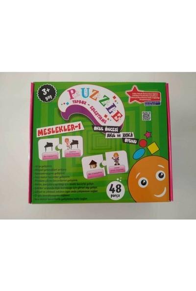 Beceri Dünyası Meslekler 1- Okul Öncesi Akıl ve Zeka Oyunu
