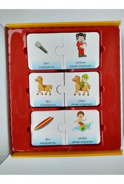 Beceri Dünyası Meslekler-2 Okul Öncesi Akıl ve Zeka Oyunu