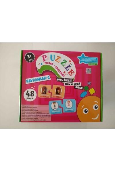 Beceri Dünyası Kavramlar-2 Okul Öncesi Akıl ve Zeka Oyunu