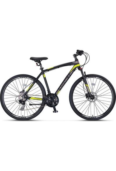 Ümit Bisiklet 2862 Magnetıc M-2d Erkek Şehir Bisikleti Md 460H 28 Jant 21 Vites Siyah Lime