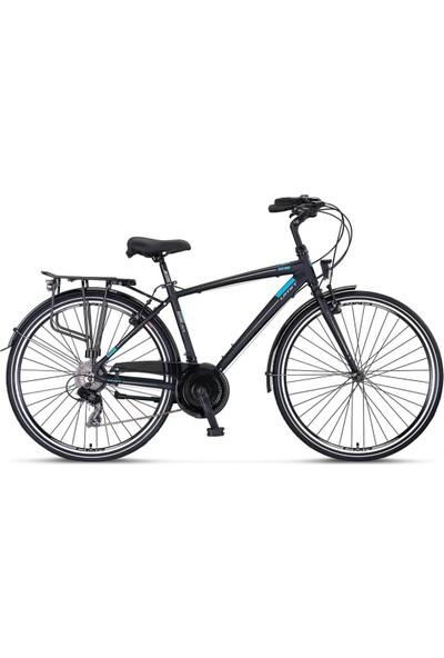Ümit Bisiklet 2838 Ventura M-Dmd Erkek Şehir Bisikleti V 460H 28 Jant 21 Vites Siyah Mavi