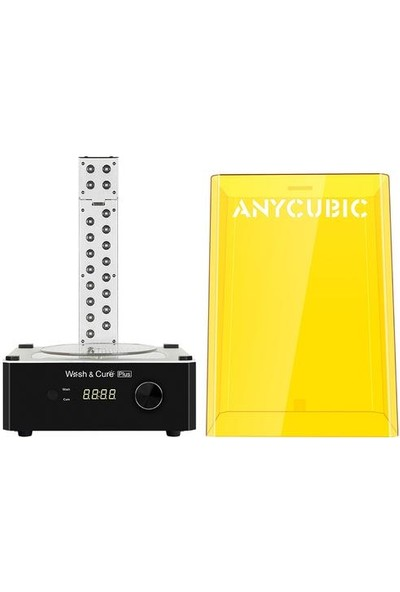 Anycubic Wash And Cure Plus Yıkama ve Kürleme Makinesi