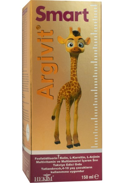 Argivit Smart Şurup 150 ml
