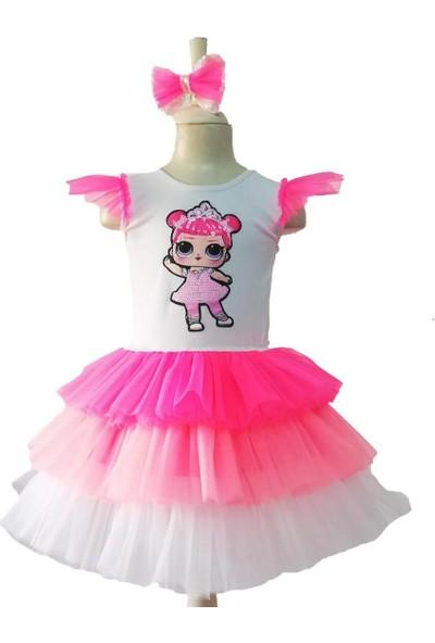 Janjan Kostüm Lol Bebek Pembiş Kostüm