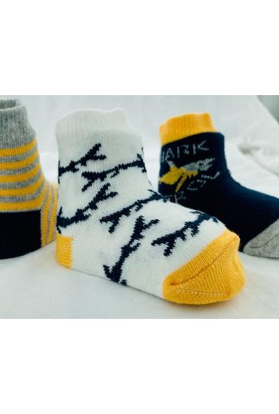 Semoor Çorap ve Tekstil Shark Bebek Çorabı (Yeni Sezon) 1845-12 (3ADET