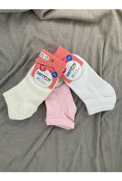 Semoor Çorap ve Tekstil Mouse Setka Patik Çorap 1626-13 3ADET