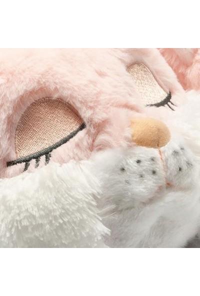 Twigy YY0314 Tw Pinky Cat Pembe Hayvan Figürlü Kadın Panduf