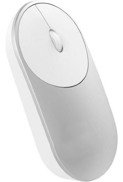 Xiaomi Portatif Kablosuz Mouse Gümüş