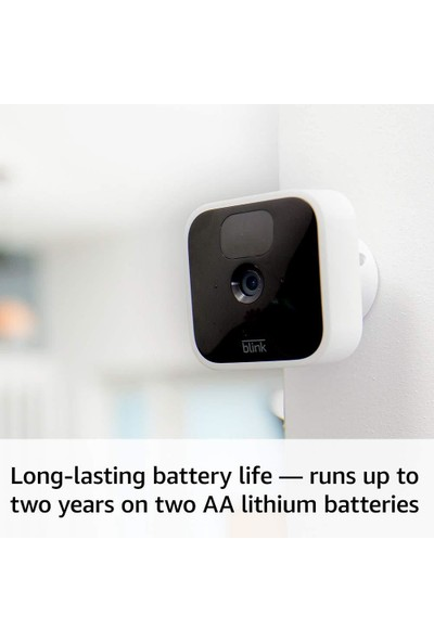 Blink Indoor - Hd Güvenlik Kamerası - 3 Kamera Kiti