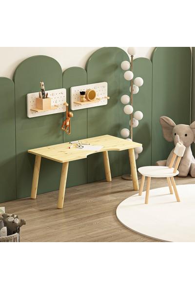 Givayo Wood's Leo Ahşap Çocuk Çalışma Masası