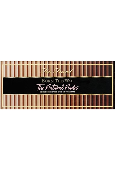 Too Faced Too Faced Born This Way The Natural Nudes Far Paleti