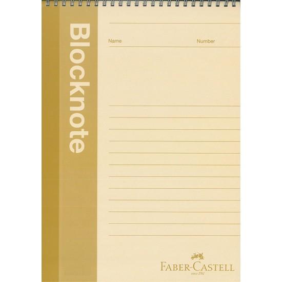 Faber-Castell Metalik Karton Kapaklı A5(14X21CM) 80 Yaprak Çizgisiz