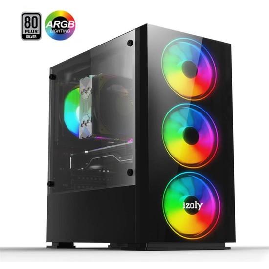 İzoly N13P i5-3470 16GB 128SSD DDR5 GTX1650 4GB Oyun Bilgisayarı