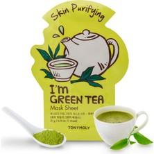 Tony Moly Tonymoly I'm Green Tea Mask Sheet - Yeşil Çay Maskesi