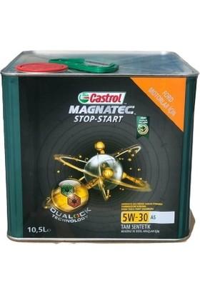 Castrol Magnetec 5W-30 10,5 lt Motor Yağı ( Üretim Yılı: 2021 )