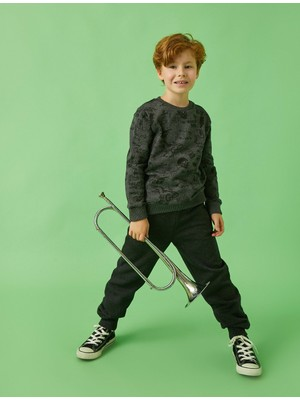 Koton Kids Jogger Eşofman Altı Fermuar Detayli