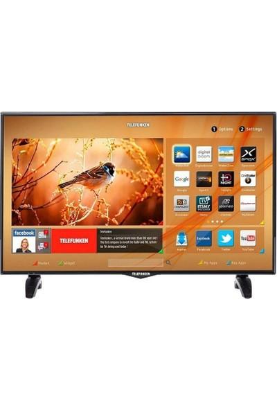 """Telefunken 39TF6520 39"""" 99 Ekran Uydu Alıcılı Full Hd Smart LED Tv"""