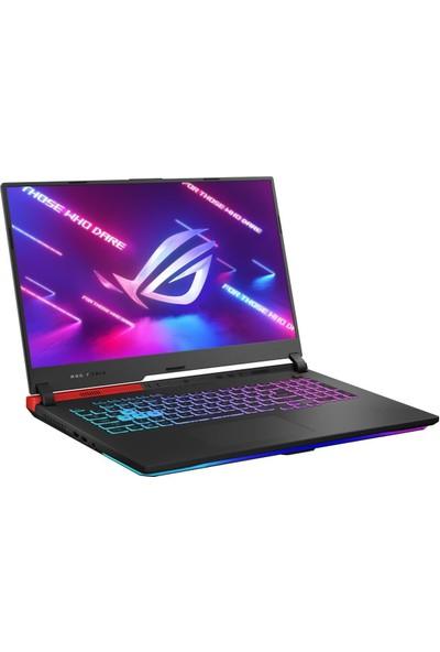 """Asus Rog Strix G17 G713IC-HX023 Amd Ryzen 7 4800H 16GB 512GB SSD RTX3050 17.3"""" Fhd Taşınabilir Bilgisayar"""
