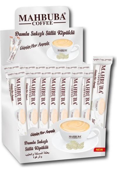 Mahbuba Damla Sakızlı Sütlü Köpüklü Kahve 48x17,5gr