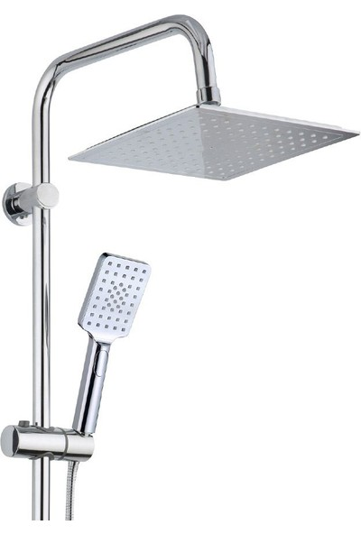 İtimat 400D Delta Tepe Yağmur Başlığı ve Çok Fonksiyonlu El Başlıklı Robot Banyo ve Duş Seti