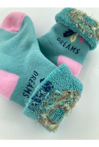 Semoor Çorap ve Tekstil Peace Kız Çocuk Havlu Çorap 7039-12(4ADET)