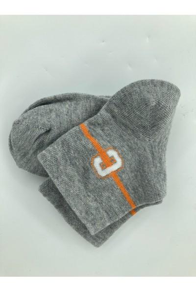 Semoor Çorap ve Tekstil A C D Alfabe Desen Erkek Soket Çorap 2054-12 (3 Adet)
