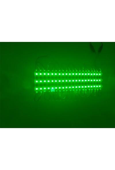 Ice JS-IP65 3led 5054 Yeşil Modül LED