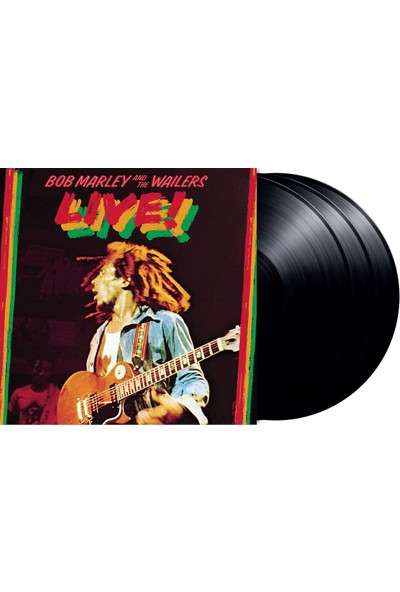 Universal Müzik Bob Marley / Live At The Lyceum 1975 (3lp Deluxe) (Plak)