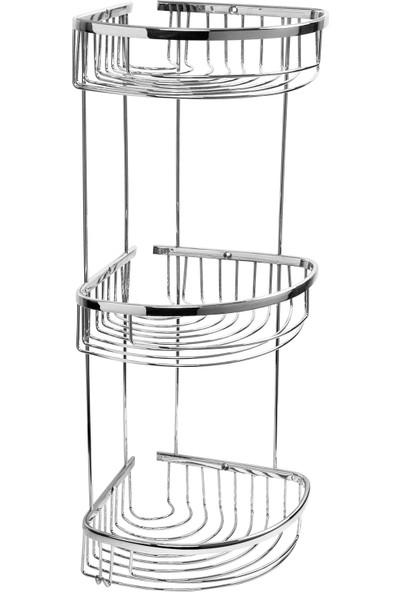 Ayrohe Üçlü Dalga Köşe Süngerlik 18X18 cm