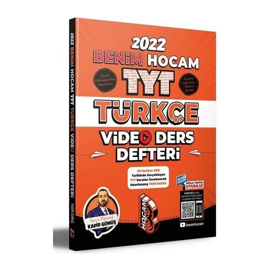 Benim Hocam TYT 2022 Türkçe Video Ders Defteri