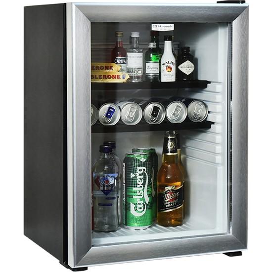 Elektromarla 45 Litre Cam Kapılı Minibar Mini Buzdolabı