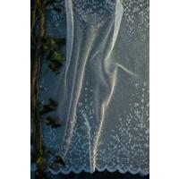Evdepo Home Nilüfer Örme Tül Perde 1/2 Seyrek Pile - Ekru 480 x 200 cm