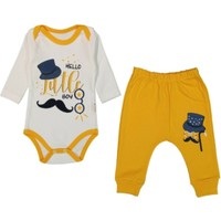 Güneş Bebe Little Boy Bıyıklı 2'li Takım