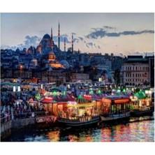 Art Liva Sayılarla Boyama Hobi Seti Tuvalli 40X50 cm Istanbul