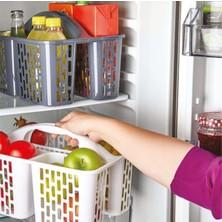 Homecare Patrick Buzdolabı ve Mutfak Organizer Gri 715077