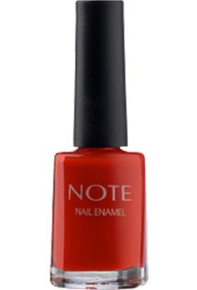 Note Nail Enamel Crystal Red Oje 3'lü Set
