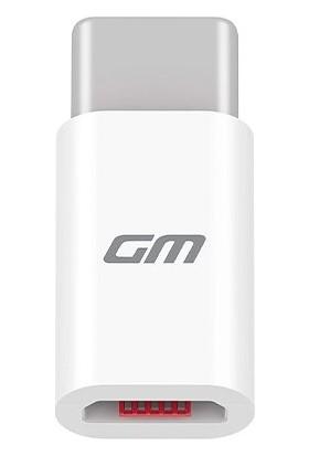 General Mobile Micro USB Kablo & Micro USB Type-C Dönüştürücü Seti