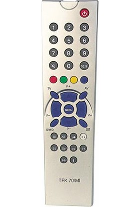 Telefunken Herz Kt Telefunken Sıemens PT90 Küçük Kelebek Tv Kumanda (5305=5306)